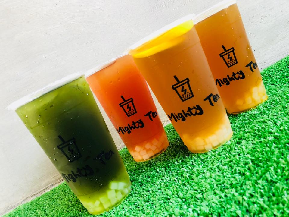 Somebody Did it! There's a Milk Tea Cafe Called Mighty Tea *snickers*