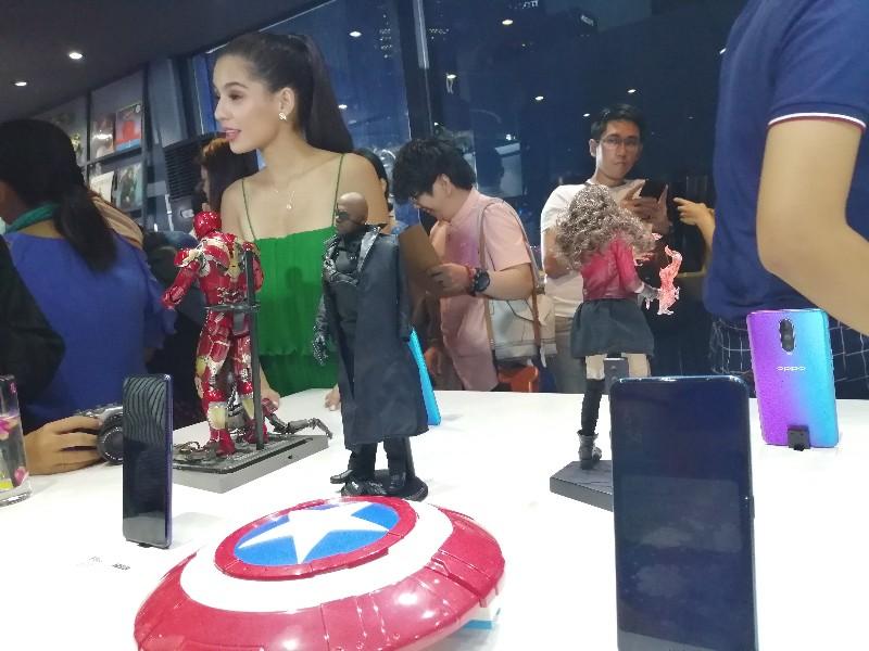 jasmine curtis oppo pop up store opening bgc