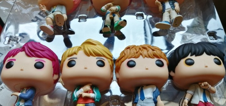 BTS Funko Pop 7-pack Unboxing