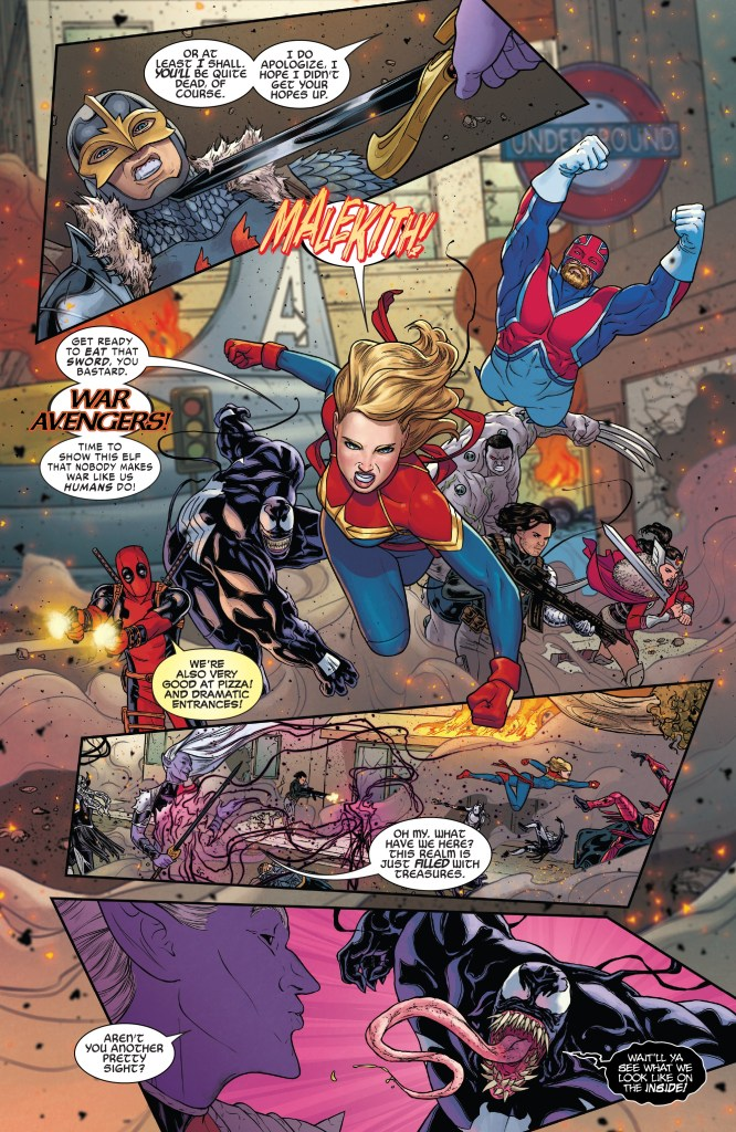 war avengers war of the realms 3