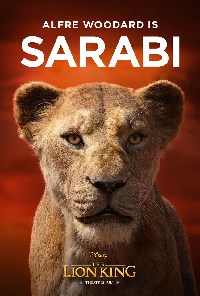 lion king character posters brings royalty to the pride lands