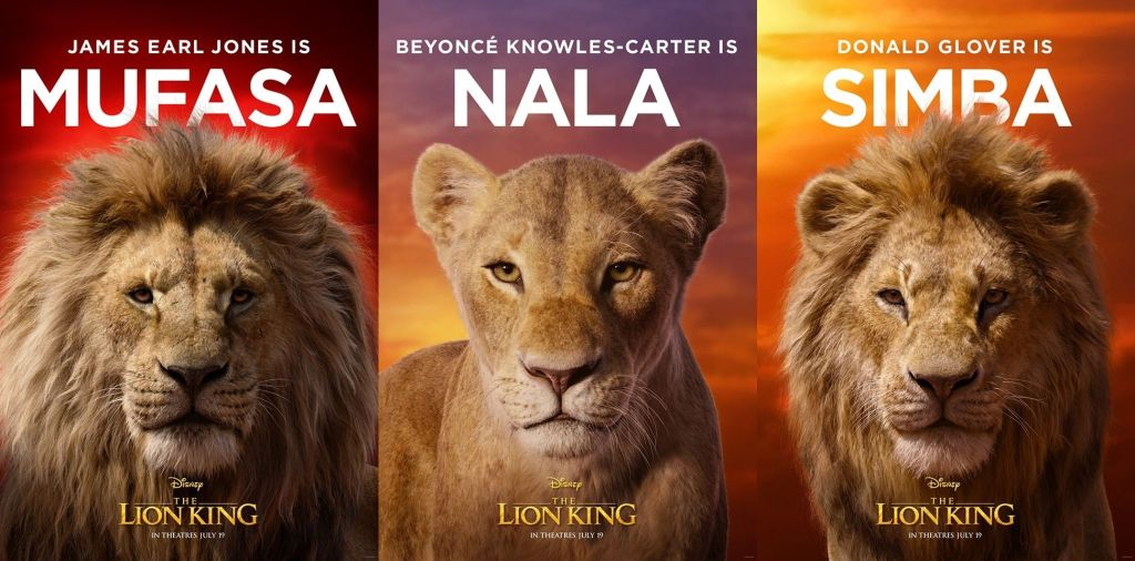Lion King Character Posters Brings Royalty To The Pride