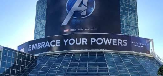 E3 2019 avengers