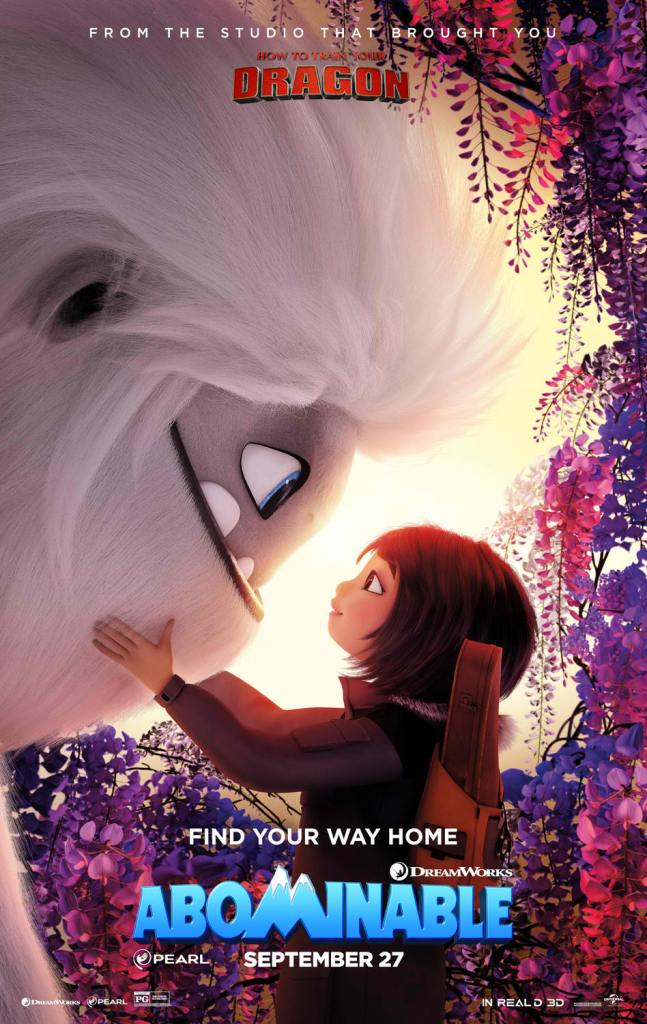 abominable international poster