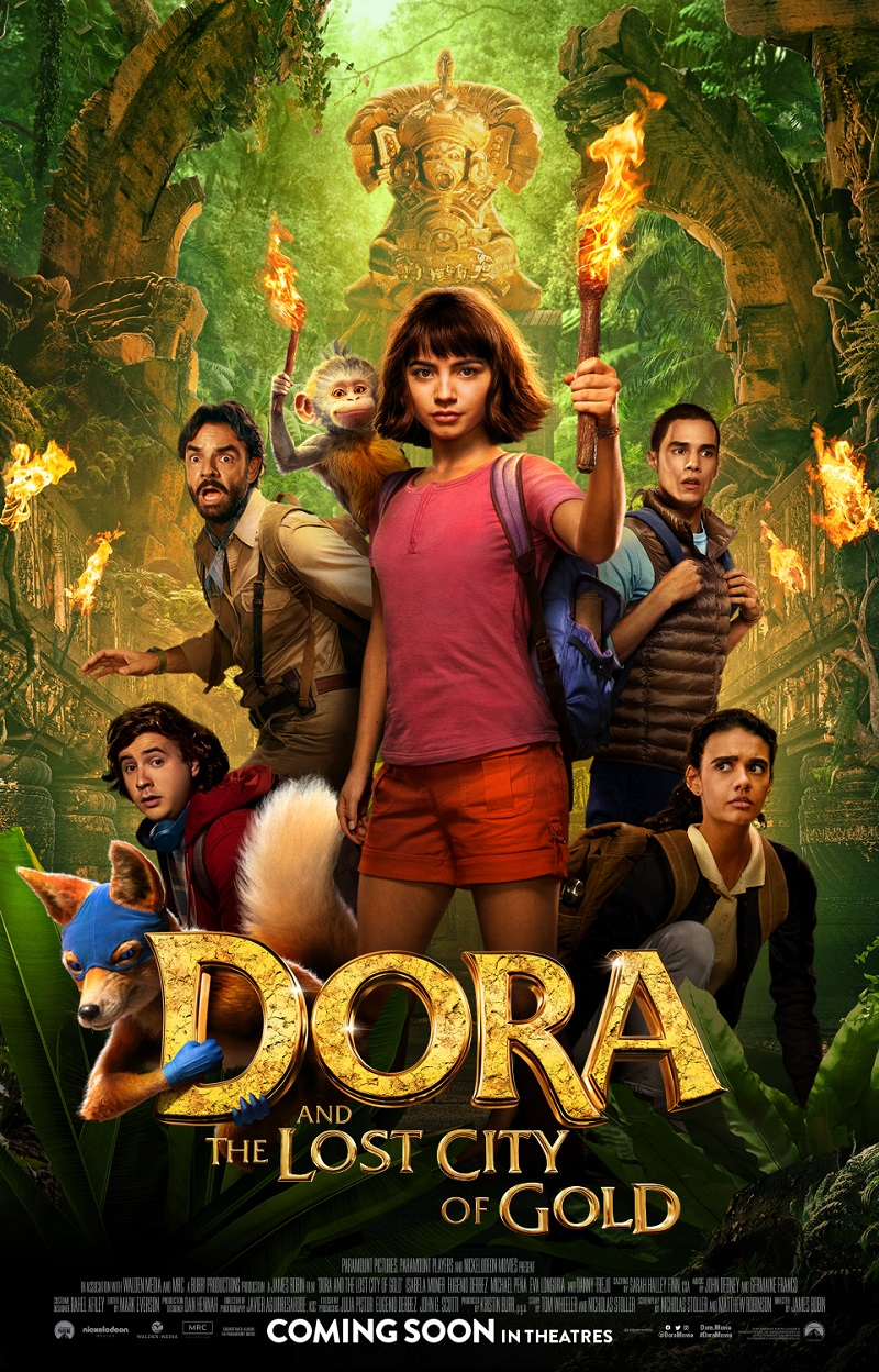 Behold The New Posters For Dora Once Upon A Time In