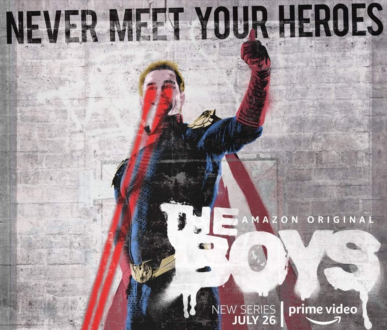 Superhero-centric Posters For Amazon's The Boys