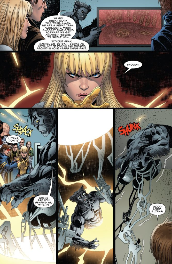 uncanny x-men 20 death of dark beast