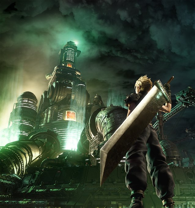 final fantasy vii remake anniversary artwork