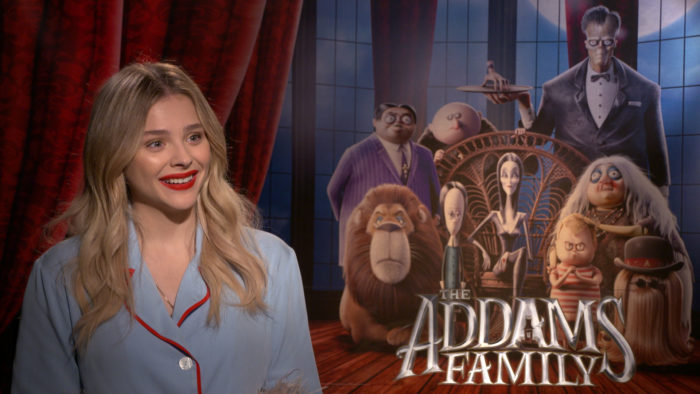 Chloe Grace Moretz Is Wednesday Addams In The Addams Family