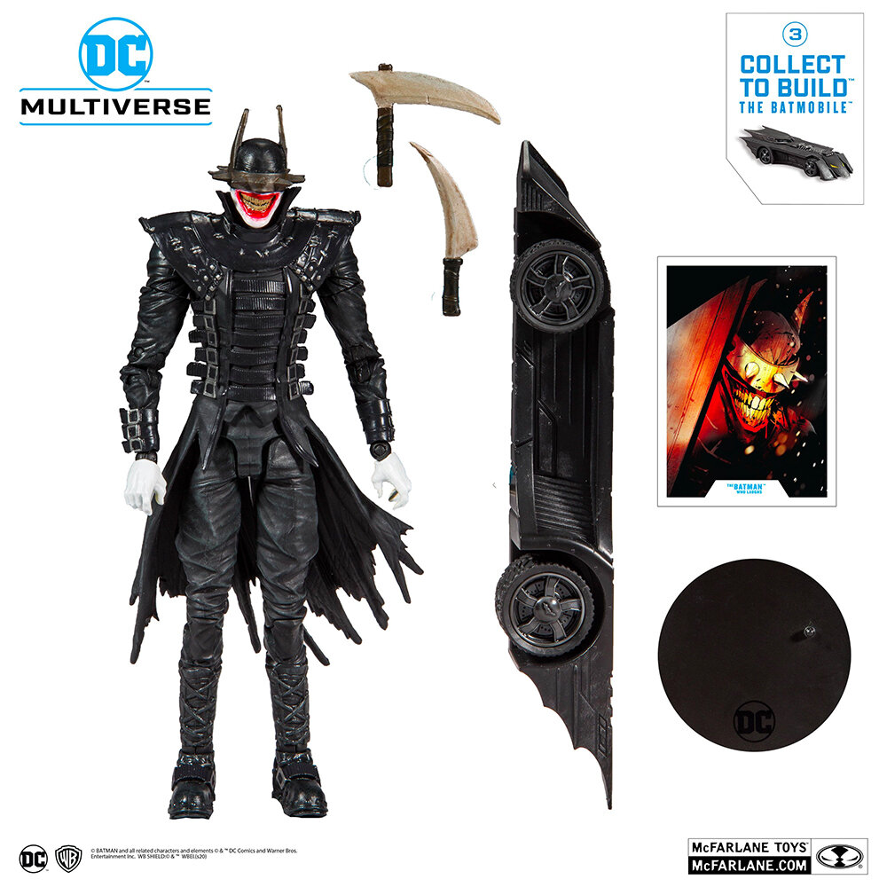 The Batman Who Laughs McFarlane Toys