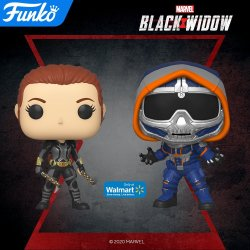 black widow funko pop walmart exclusives