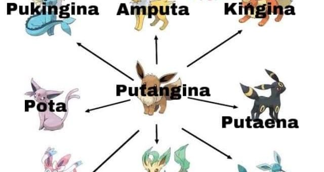 evolution of putangina