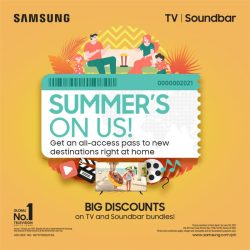 Samsung - Summer's On Us Promo 1