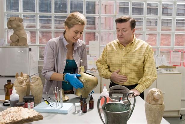Ricky Gervais,Téa Leoni