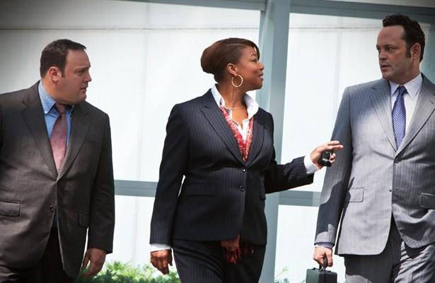 Kevin James,Queen Latifah,Vince Vaughn