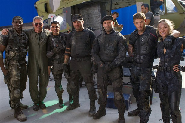 Harrison Ford,Jason Statham,Kellan Lutz,Wesley Snipes