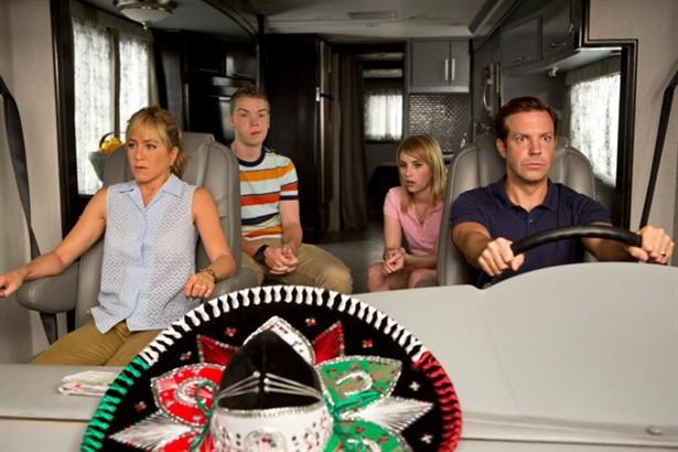 Emma Roberts,Jason Sudeikis,Jennifer Aniston,Will Poulter