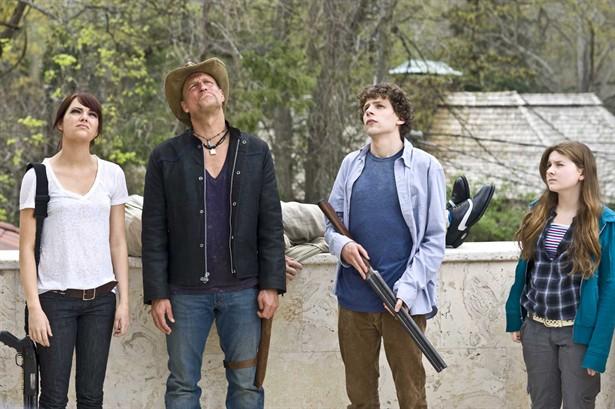 Abigail Breslin,Emma Stone,Jesse Eisenberg,Woody Harrelson