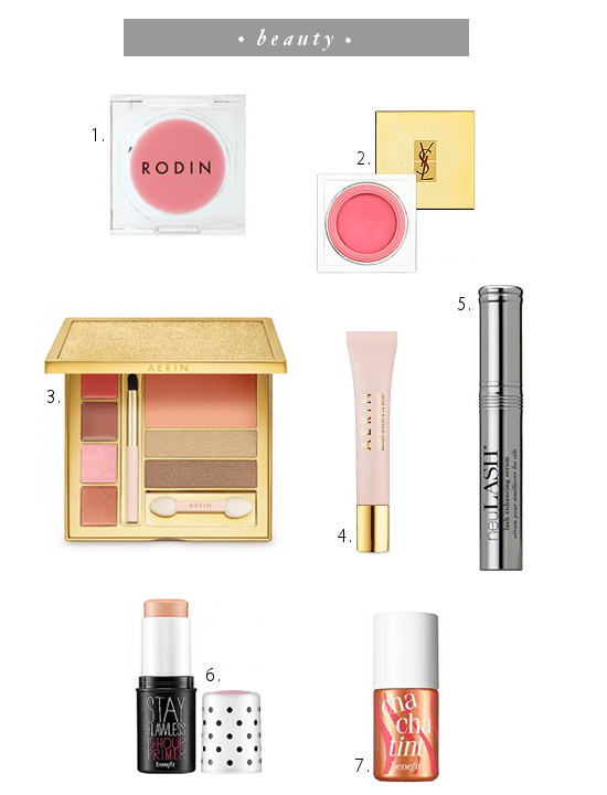 MAKEUP WISH LIST
