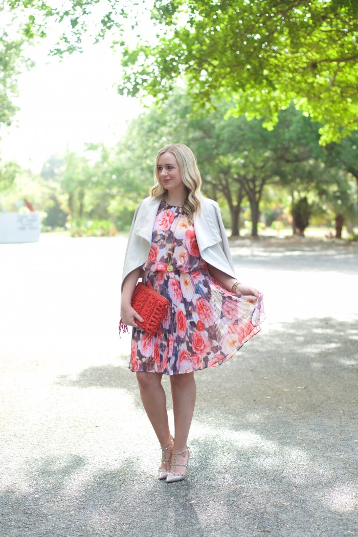 Pleated Floral