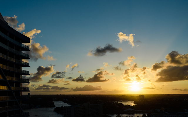 Sunset W Fort Lauderdale