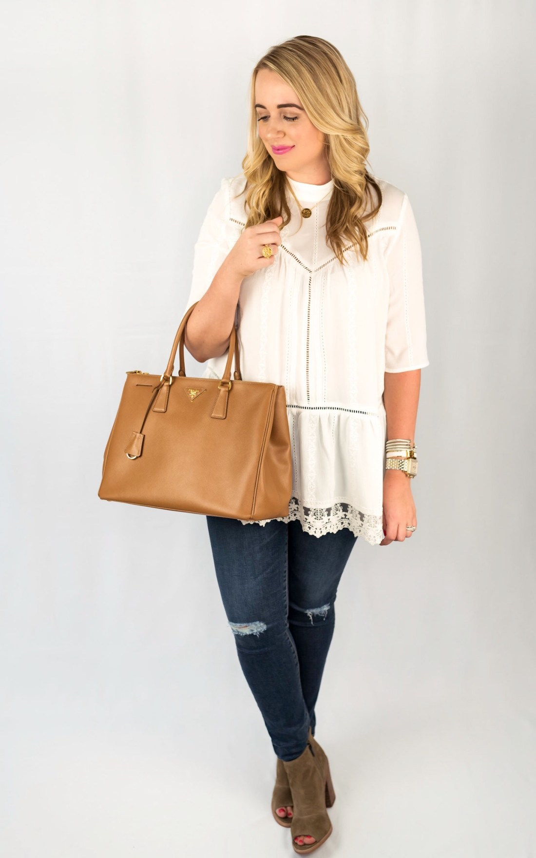 Leith Lace Hem Top Fancy Things Nordstrom