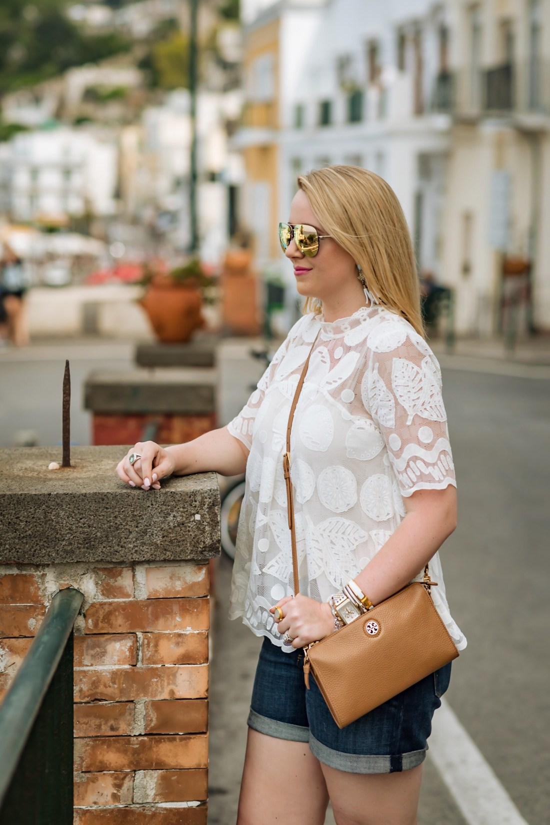 Lily Lace Top Capri Italy Fancy Things