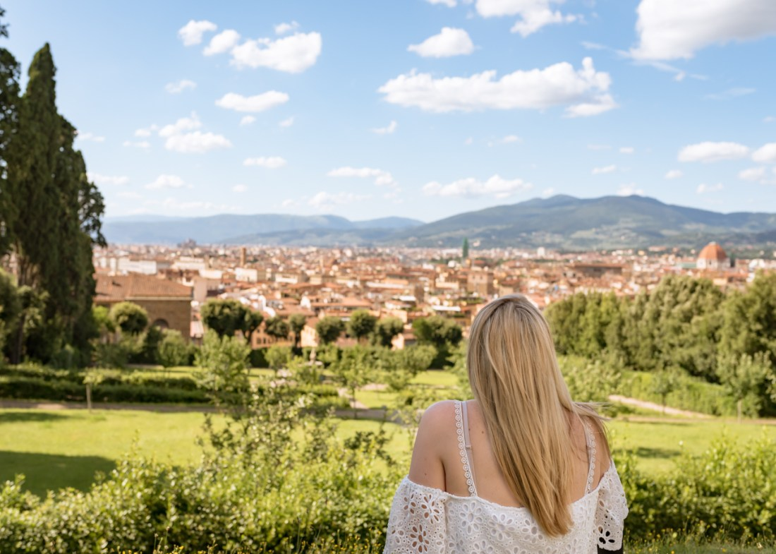 Overlooking Florence Italy