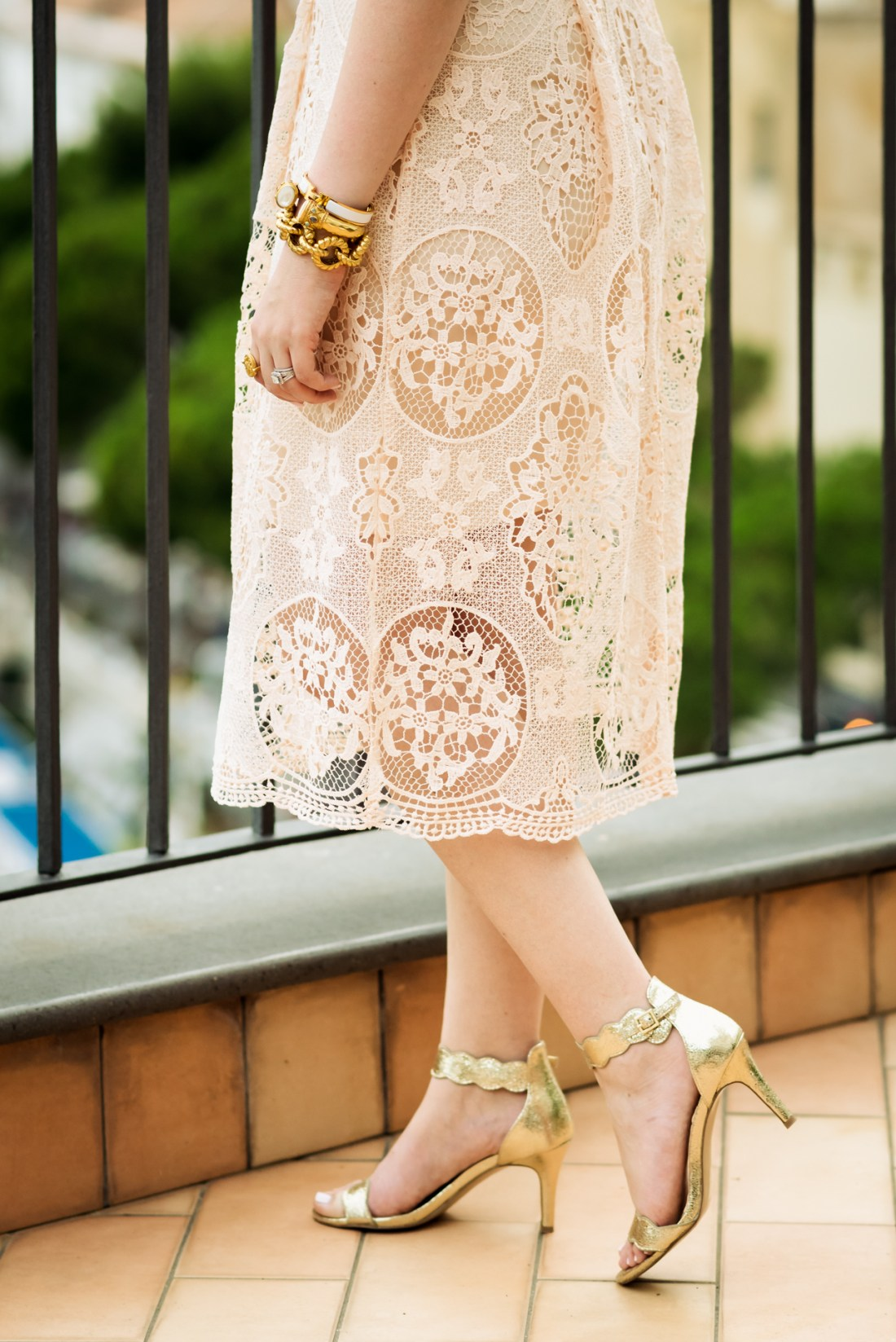 Sole Society Pia Sandal Gold Fancy Things Amalfi Italy