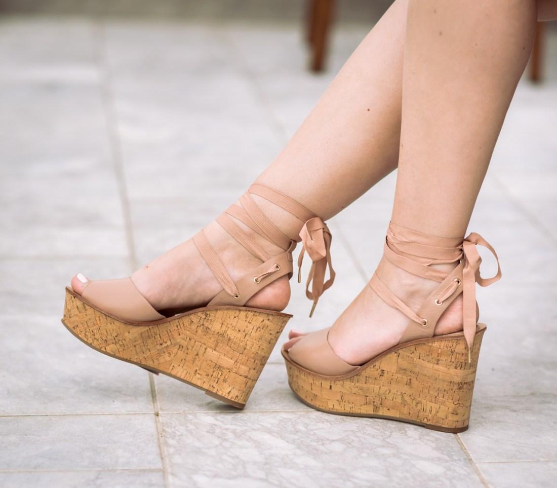 Topshop 'Wise' Platform Wedge Sandal Fancy Things Italy
