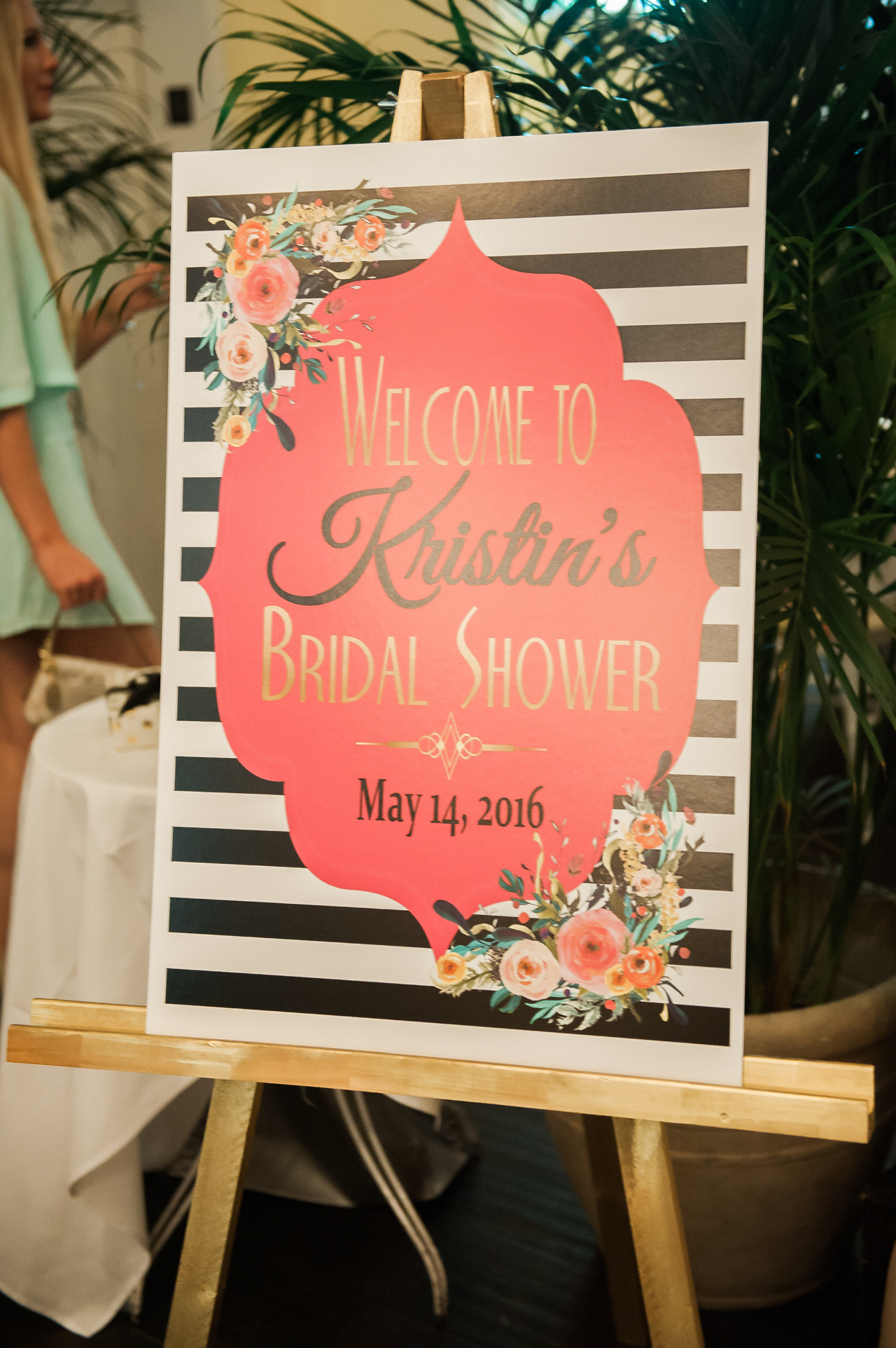 Cute Bridal Welcome Sign Fancy Things Kate Spade Fancy