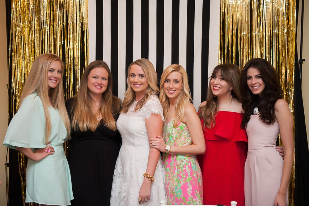 Fancy Things Bridesmaids Kate Spade Bridal Shower