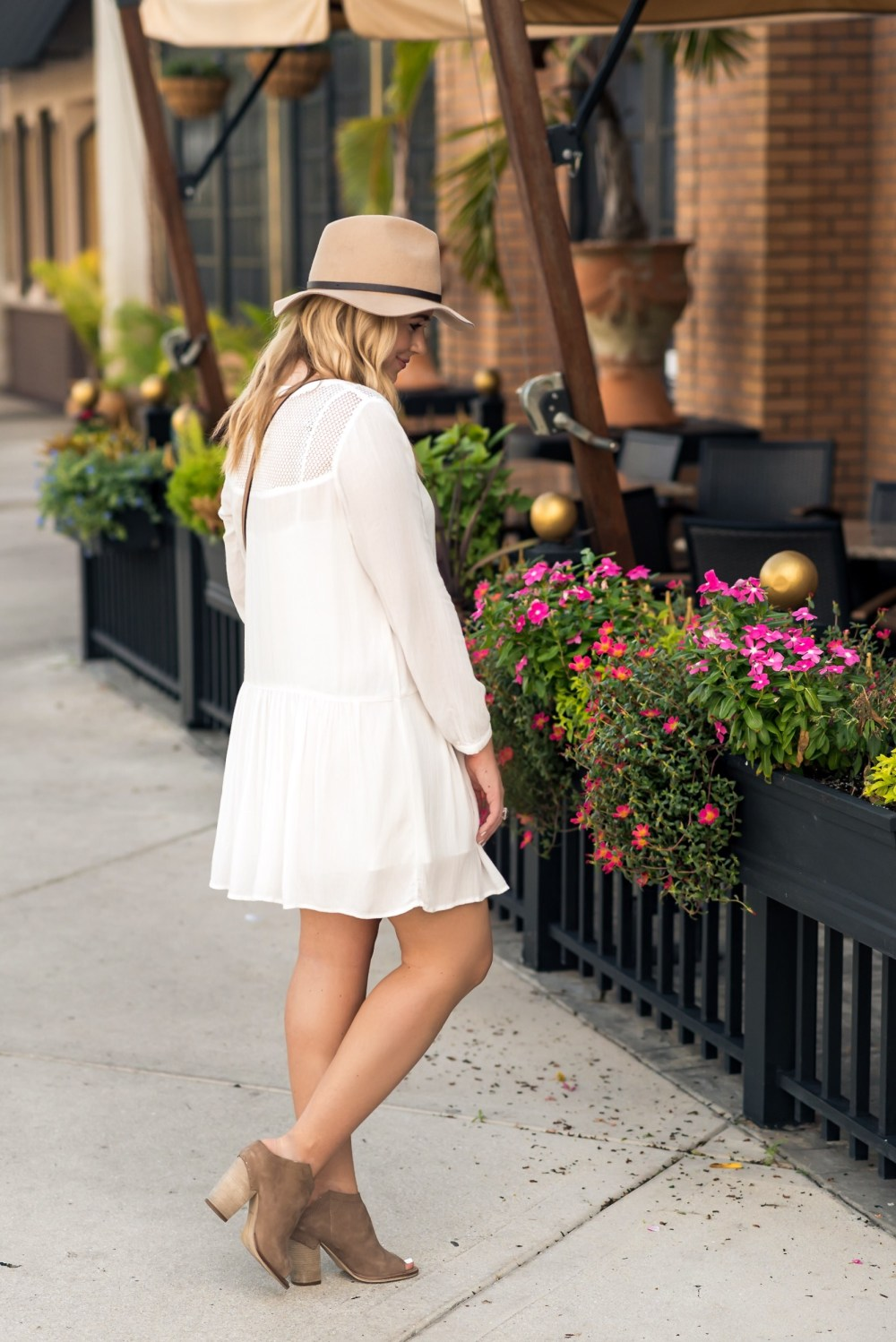Lace White Dress- Fancy Things