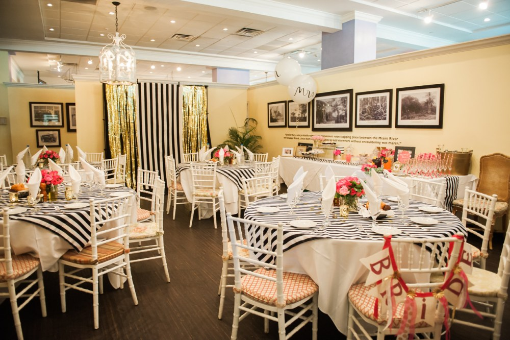 Peacock Garden Cafe Kate Spade Bridal Shower Fancy Things