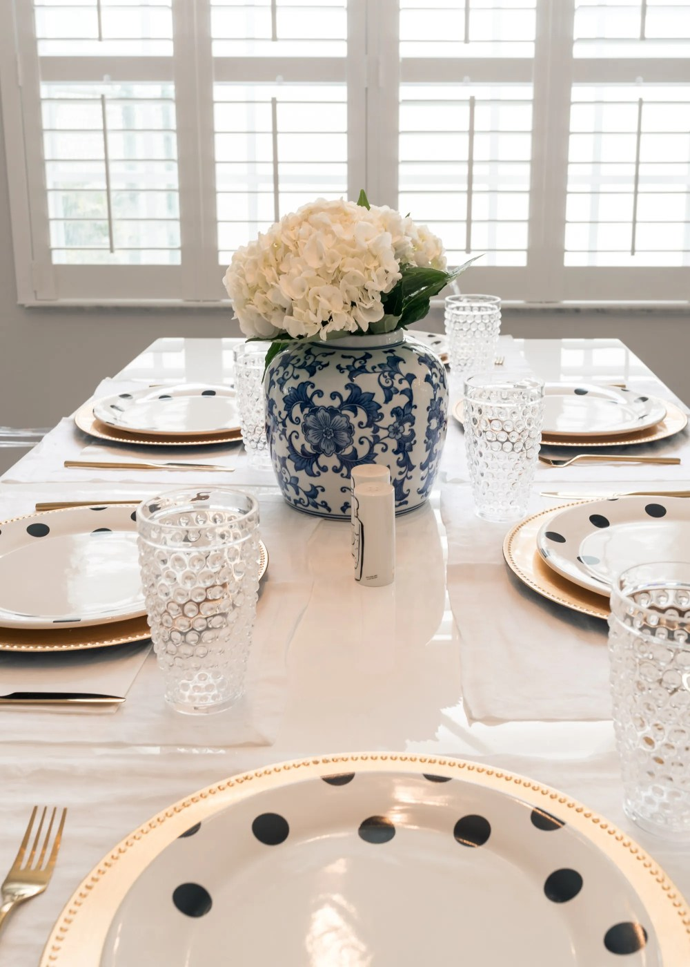 Gold Chargers Dining Table Kate Spade Plates Fancy Things