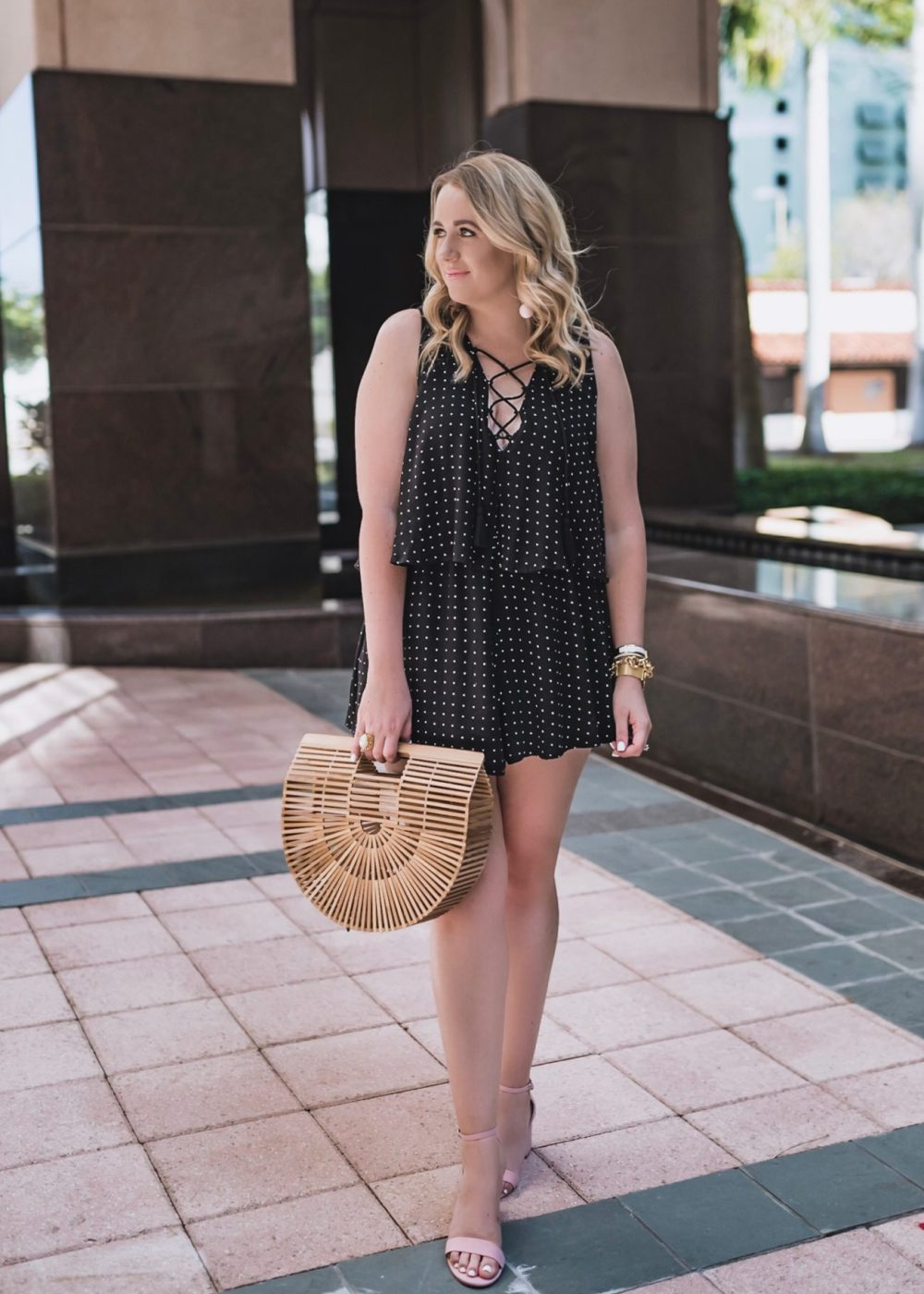 Cute Polka Dot Romper Under $60