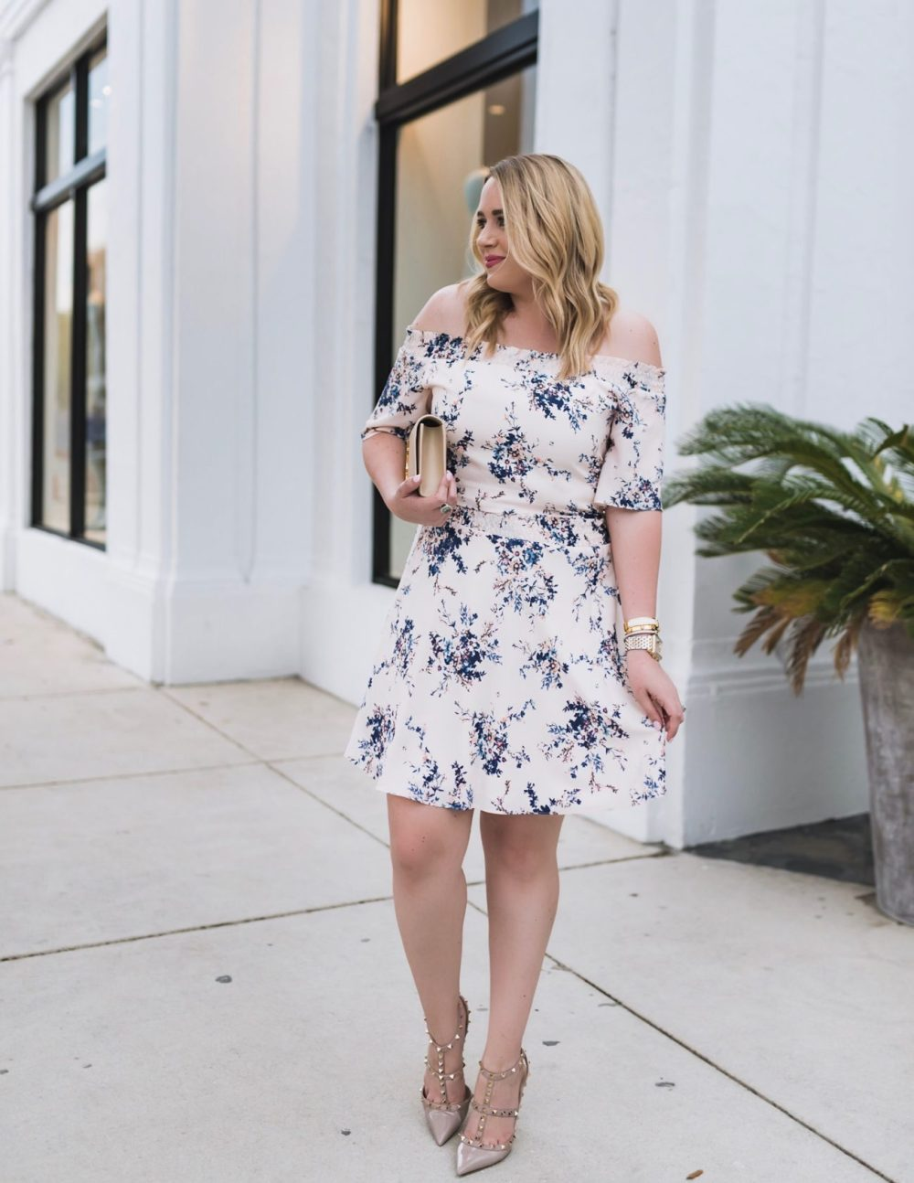 Floral Fountain Frolicking Two-Piece Dress Fancy Things