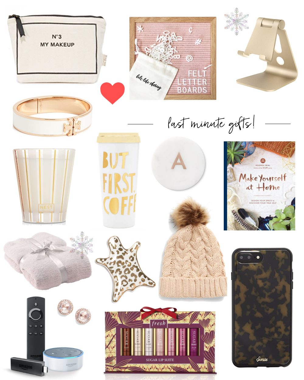last minute gift ideas for her 2017 - fancy things