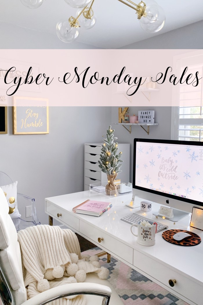 Cyber Monday Sales I'm Shopping