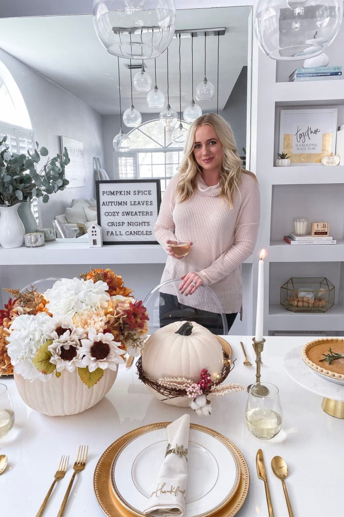 DIY Fall Tablescape with JOANN