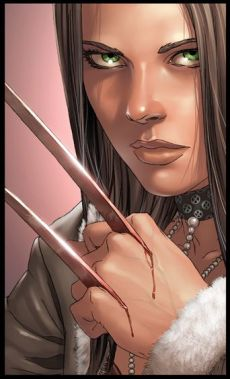 X-23 another face shot