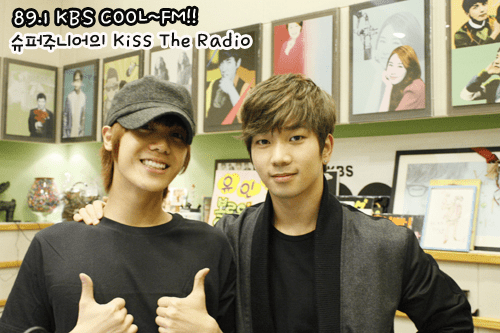 GO and Mir Kiss the Radio