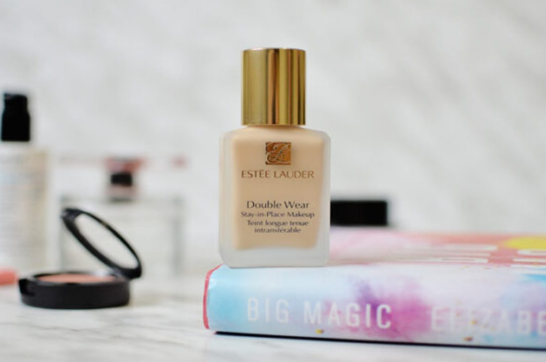 Estée Lauder Double Wear Foundation.