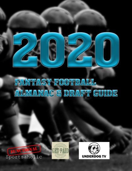 This 2020 Fantasy Football Magazine comes with Free fantasy football rankings updates, premium fantasy football analytics and more.
