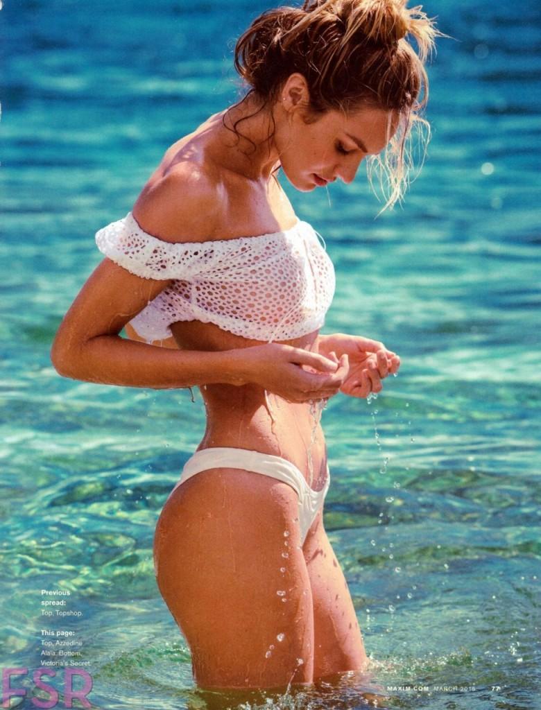 Candice Swanepoel Naked for Maxim Magazine 07