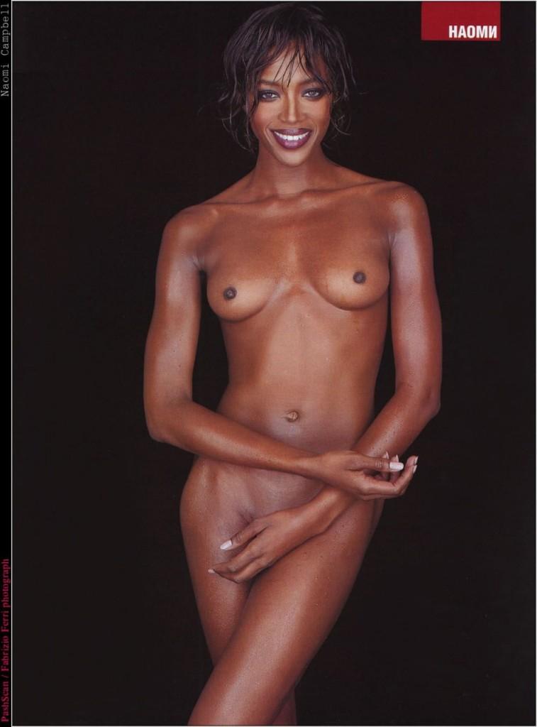 Naomi Campbell Naked 10