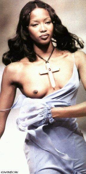 Naomi Campbell Naked 12