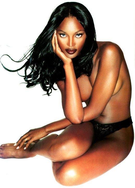 Naomi Campbell Naked 25