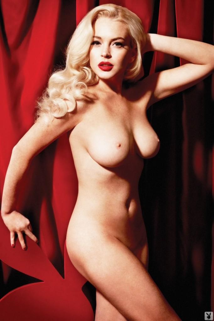 Lindsay Lohan Naked 10