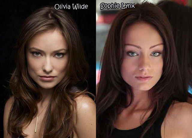 19.Olivia Wilde Sophie Lynx